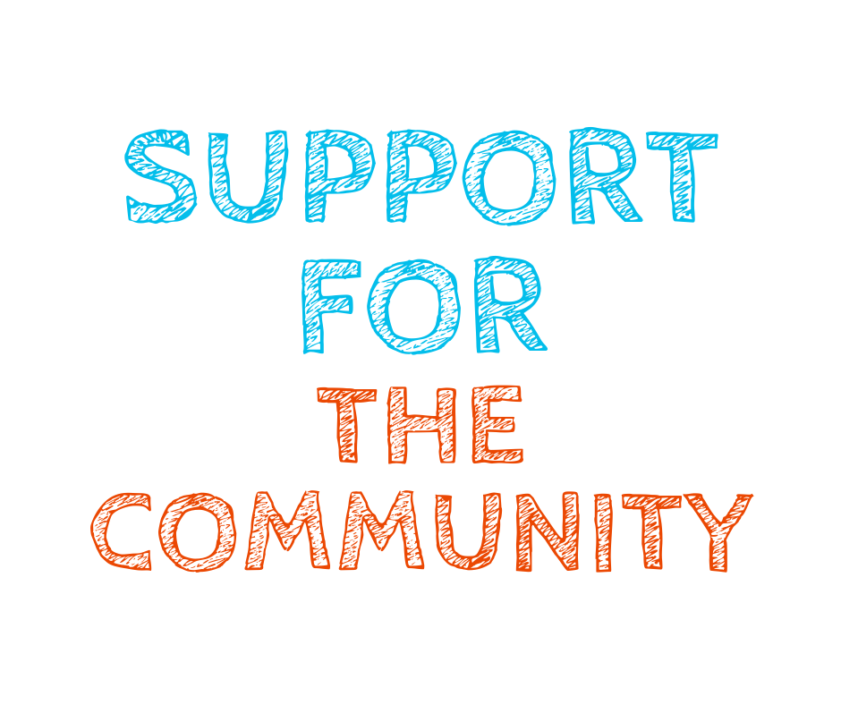 support for the community
