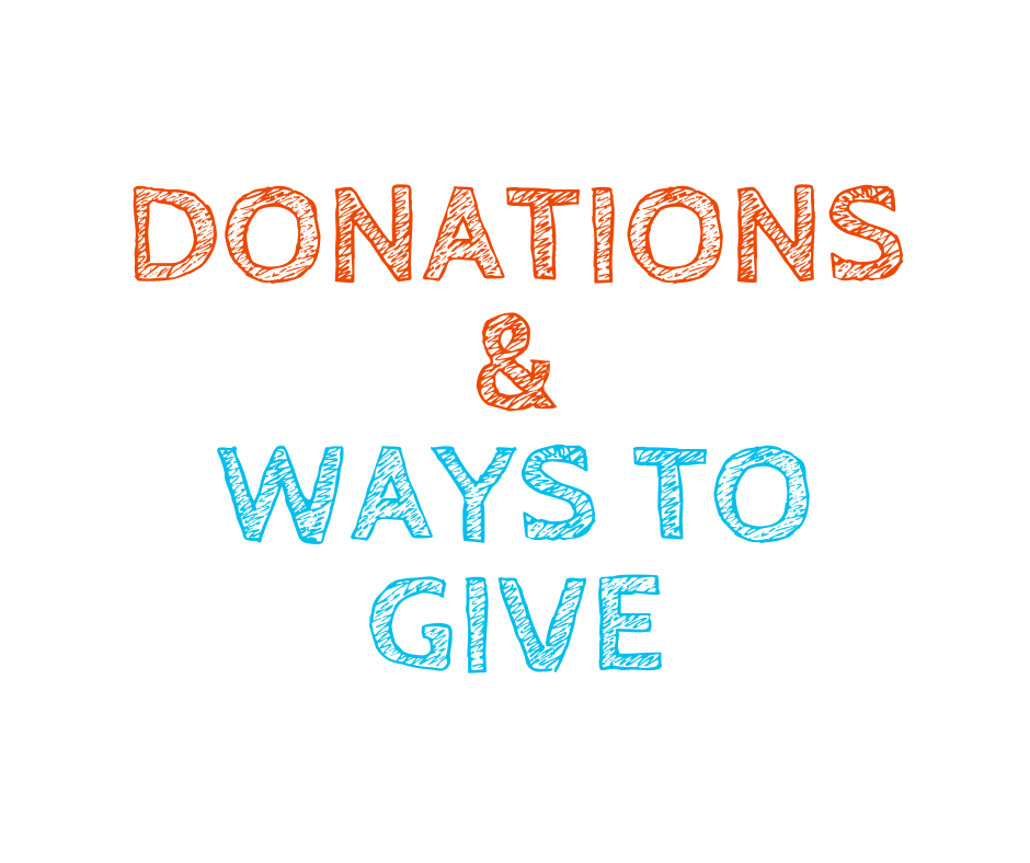 donations and ways to give