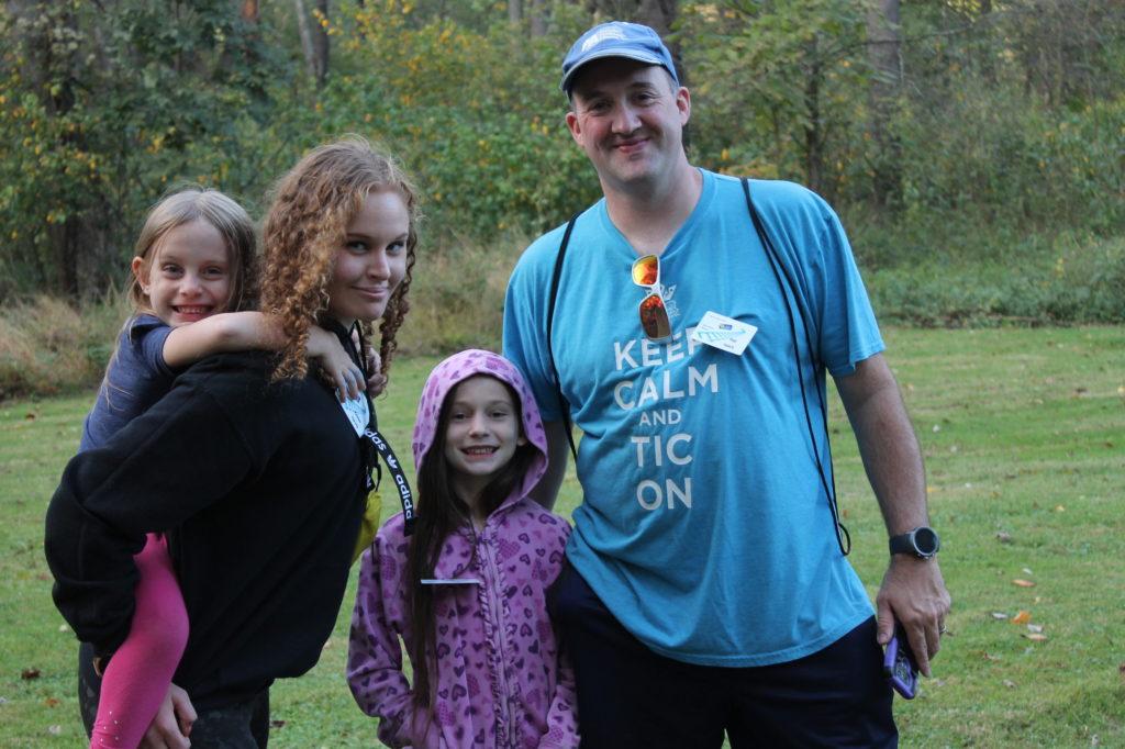 TS Family attending the fall retreat