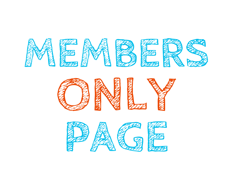 members only page