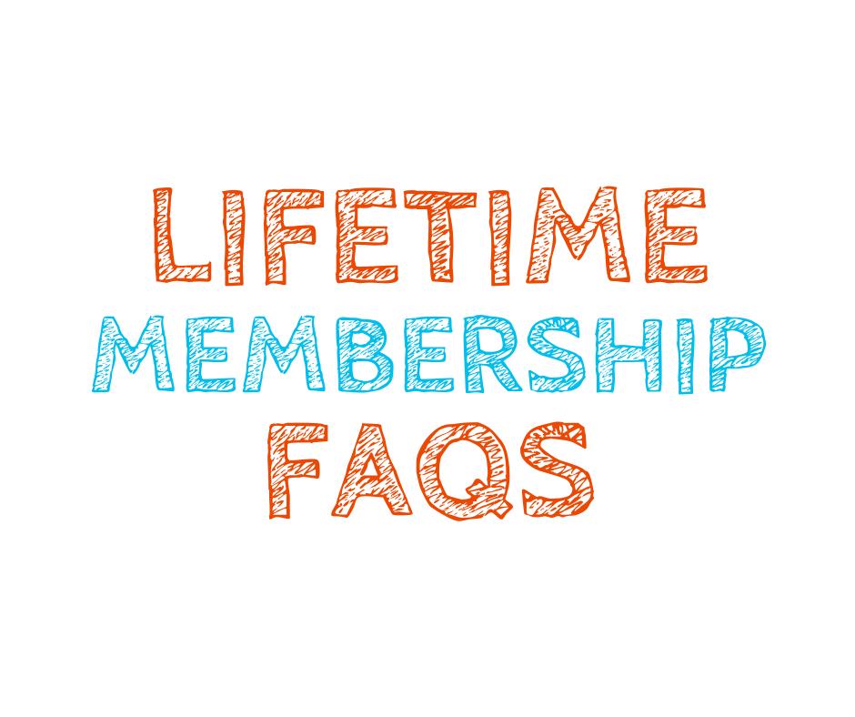 lifetime membership FAQs