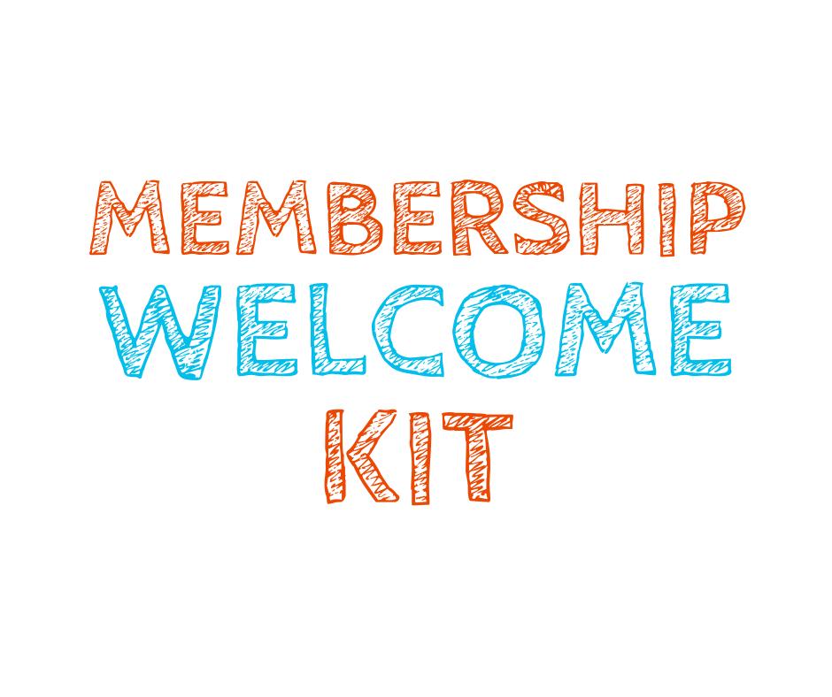 membership welcome kit