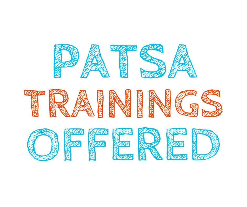 PATSA Trainings Offered