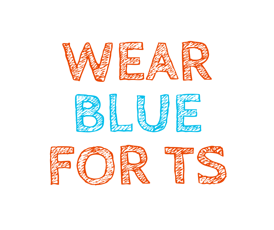 Wear Blue for TS